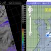 雨の予想と実況比較