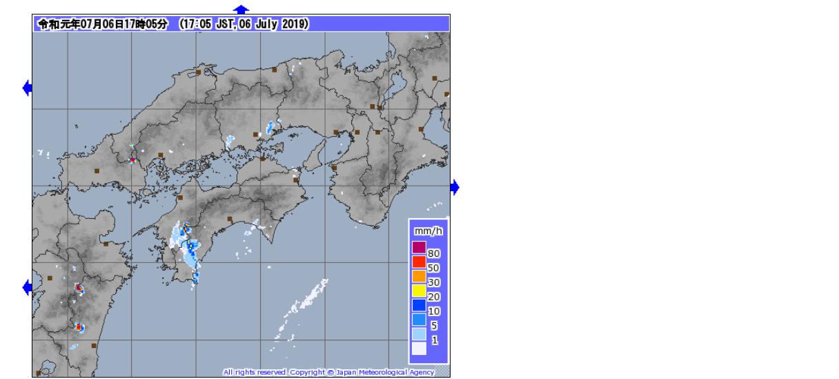 ゲリラ豪雨 気象レーダー