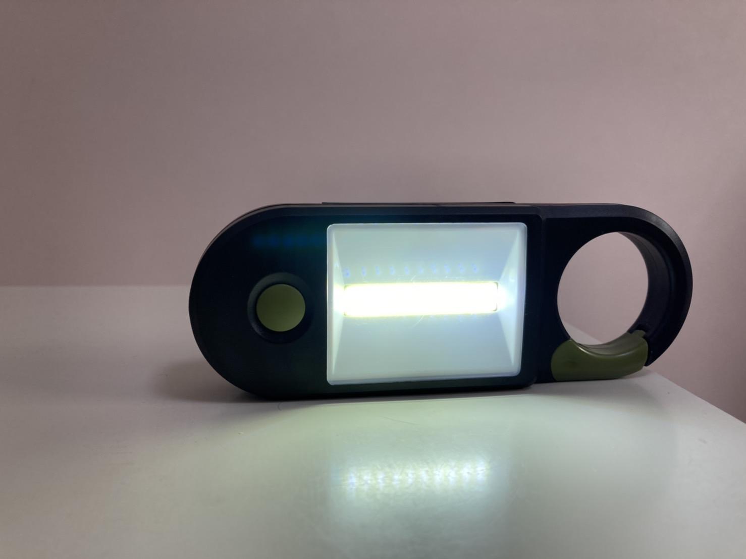 懐中電灯(LED)広範囲モード